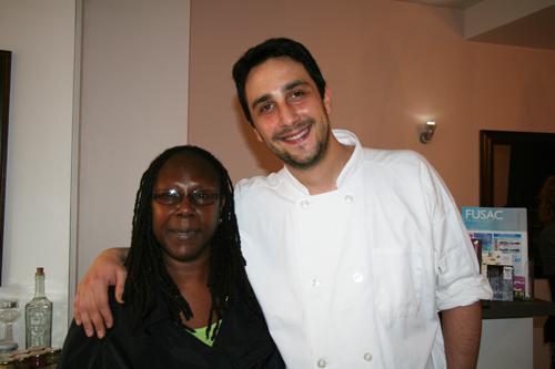 Katie Couvson and Chef Eri