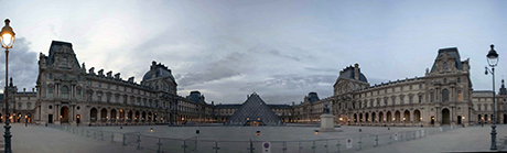Louvre at dawn