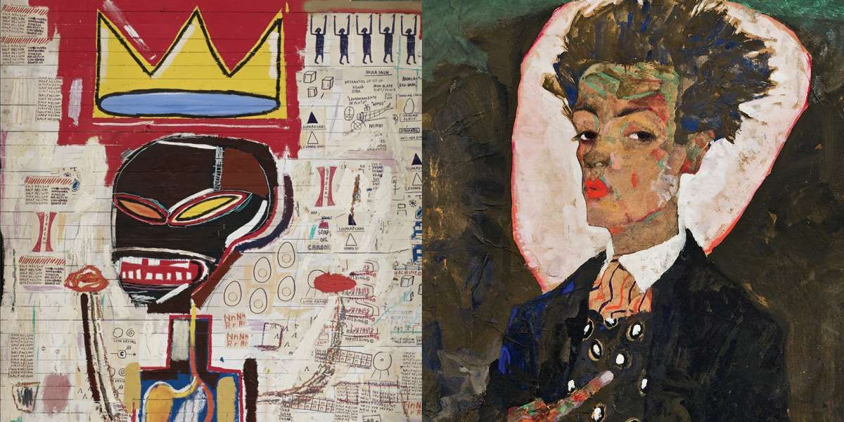 Basquiat - Schiele at Fondation Louis Vuitton