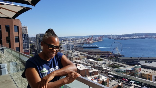 Cheryl Pegues in Seattle, Washington