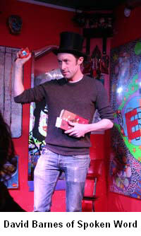 David Barnes of Spoken Word