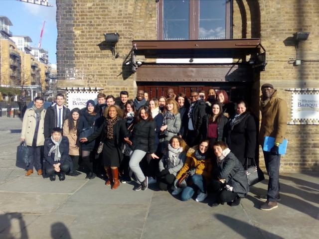 Ellen and ENASS class in London