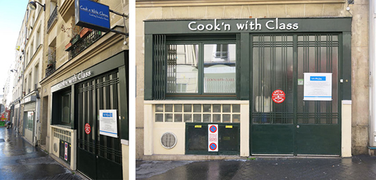 Cook'n with Class Paris diptych