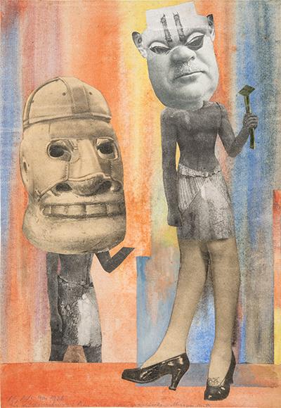 Hannah Höch (1889-1978) Aus der Sammlung: Aus einem Ethnographischen Museum Nr. IX