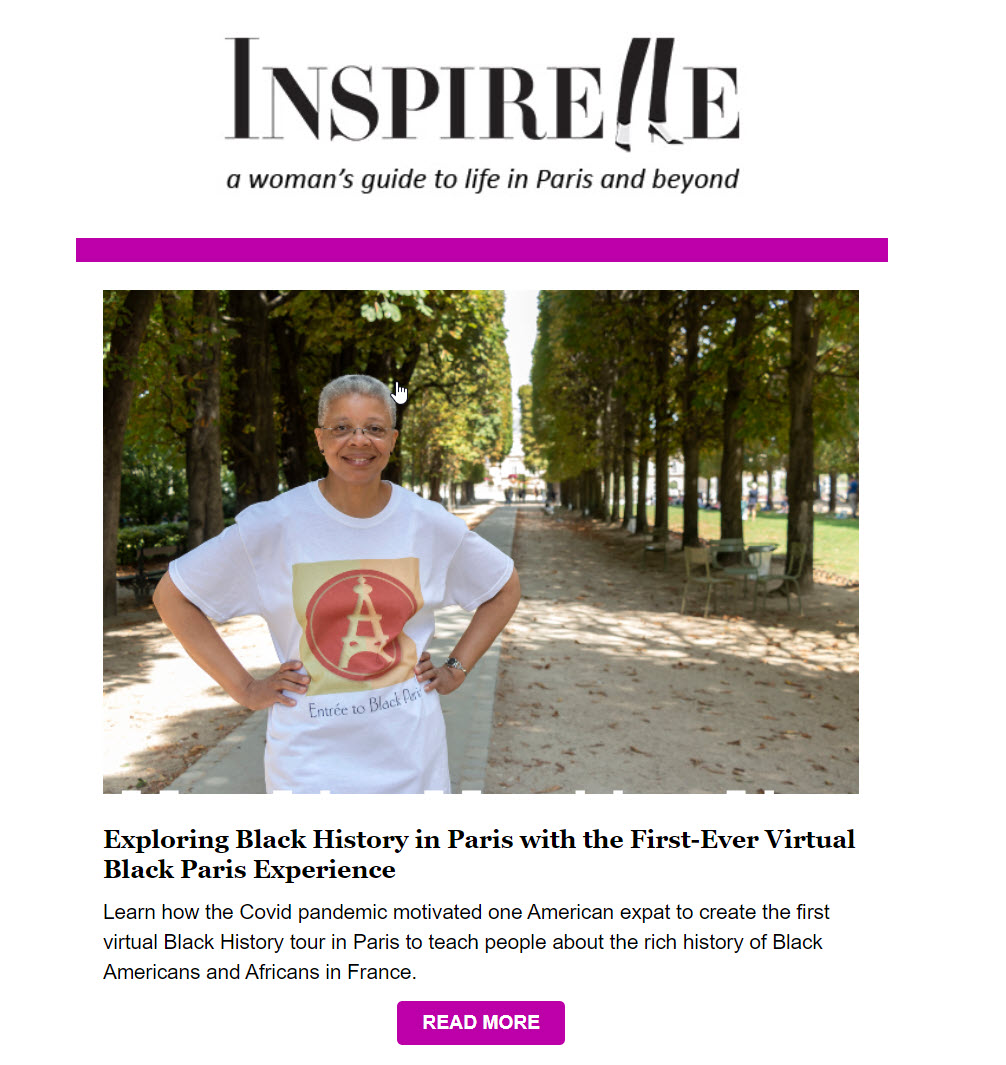 Inspirelle Article about Virtule Black Paris Tour
