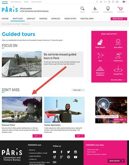 Discover Paris Tourism