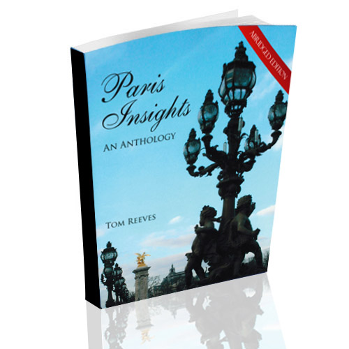 Cover of abridged edition of Paris Insights - An Anthology
