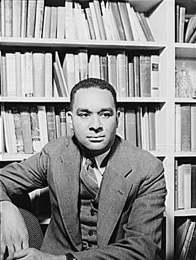 Richard Wright by Gordon Parks 1943 _ public domain