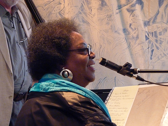 Singing at l'Atelier du Chaudron