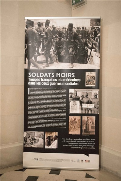 Soldats Noirs - Opening panel