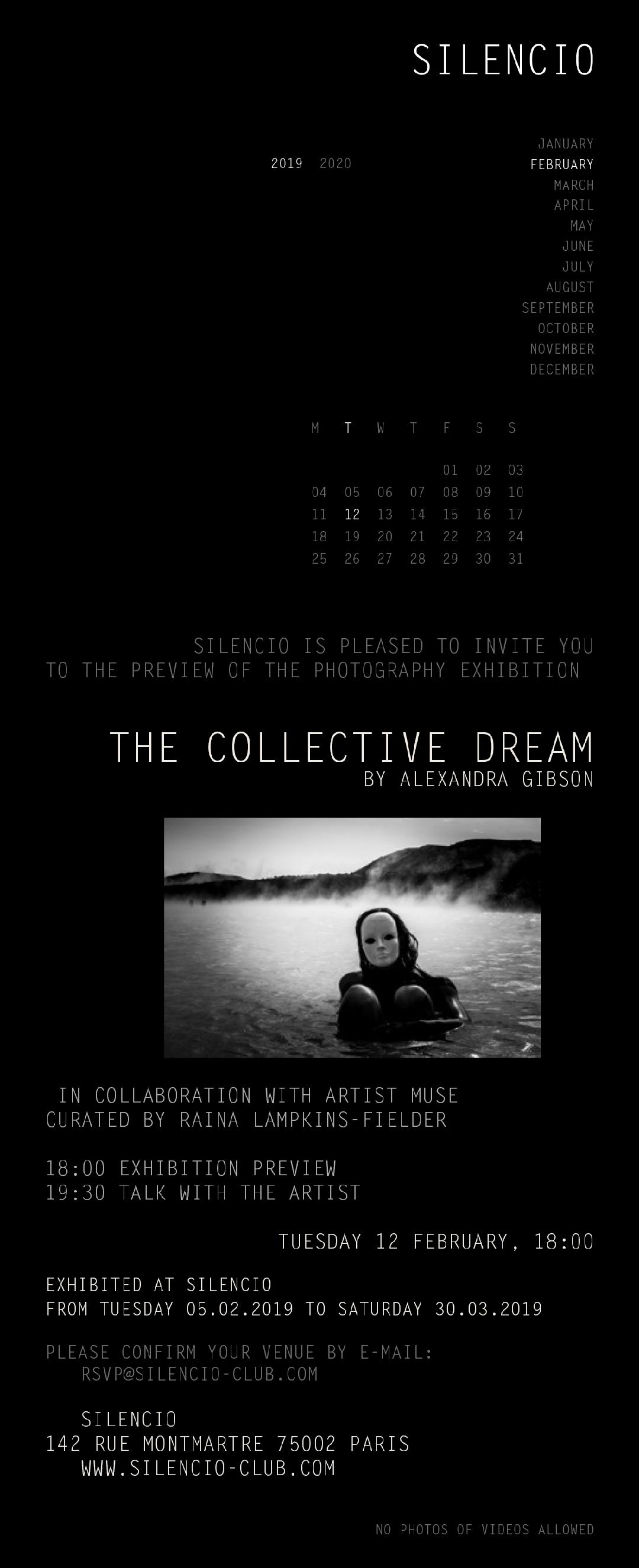The Collective Dream flier