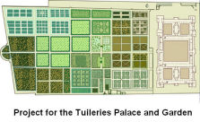 Project of Philibert de l'Orme for the Tuileries Palace and Garden