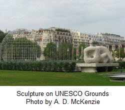 Sculpture at UNESCO