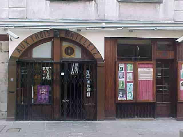 Aux Trois Mailletz - façade