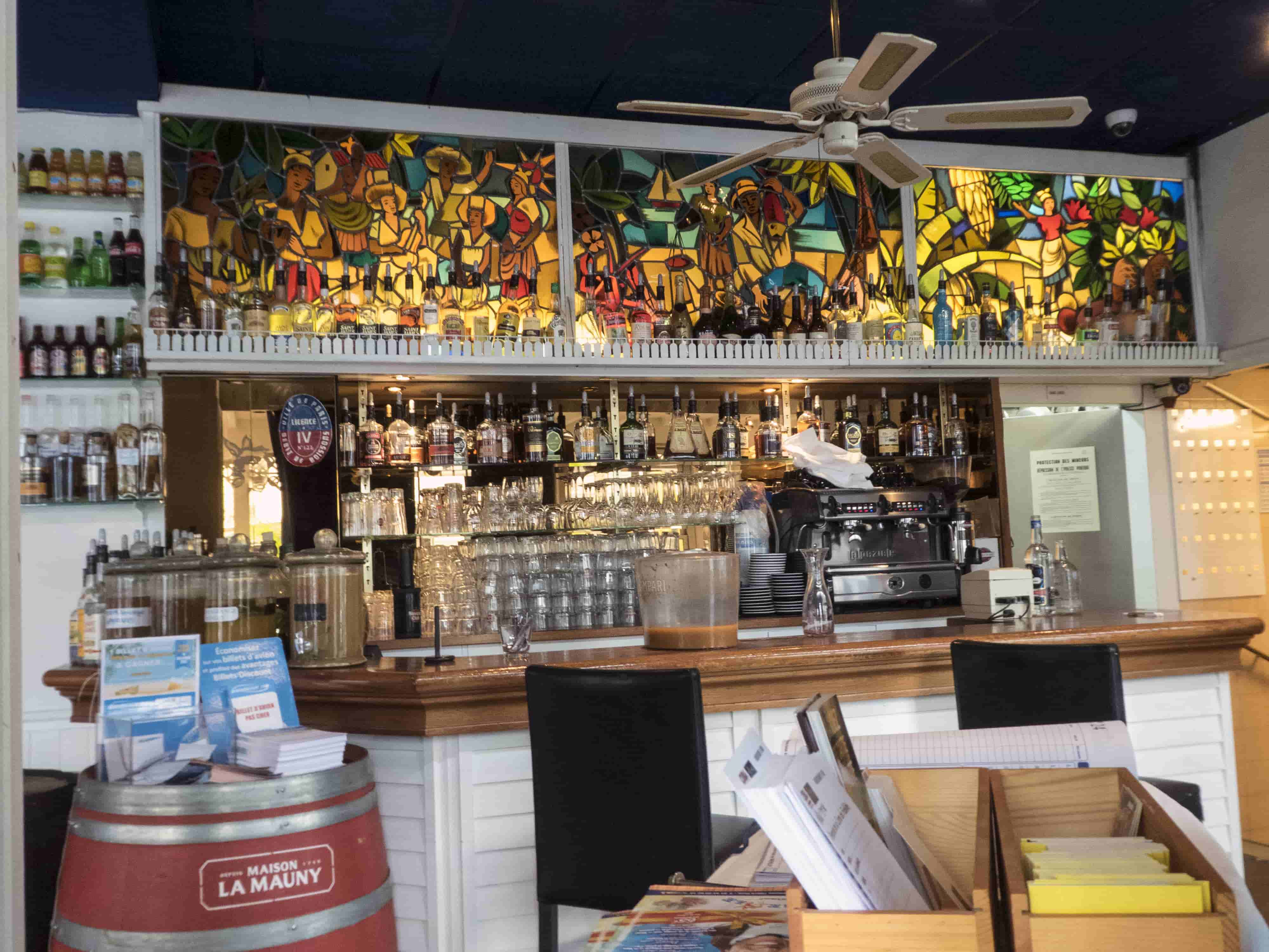 Bar at La Créole