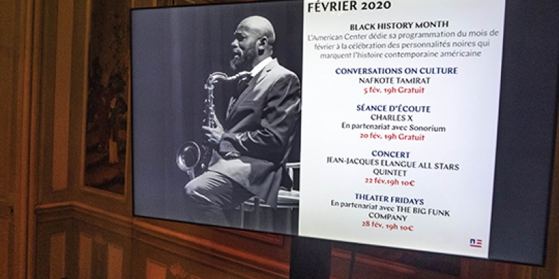 Black History Month 2020 in Paris