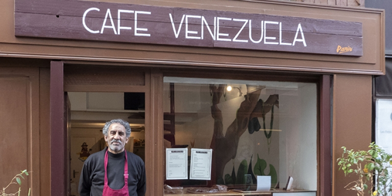 Café Venezuela - Venezuelan and Caribbean Cuisine in the Mouffetard Quarter