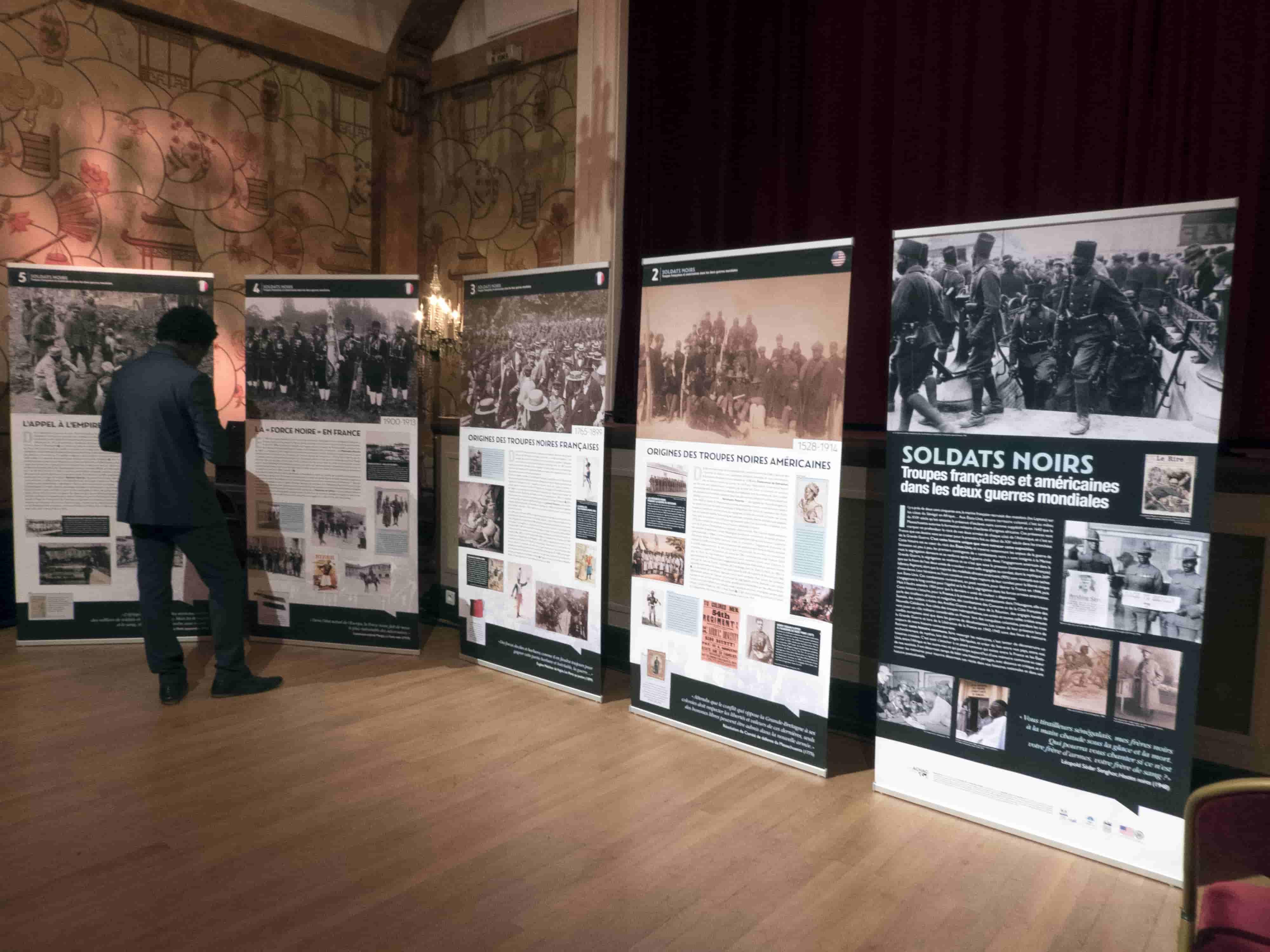 Exhibition - Soldats Noirs