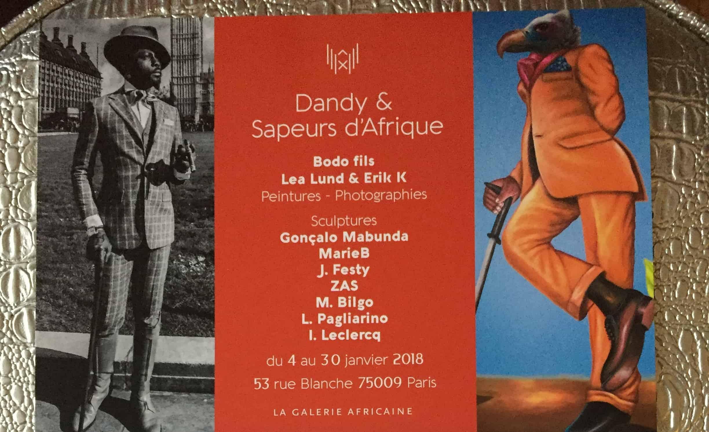 Dandy & Sapeurs flier
