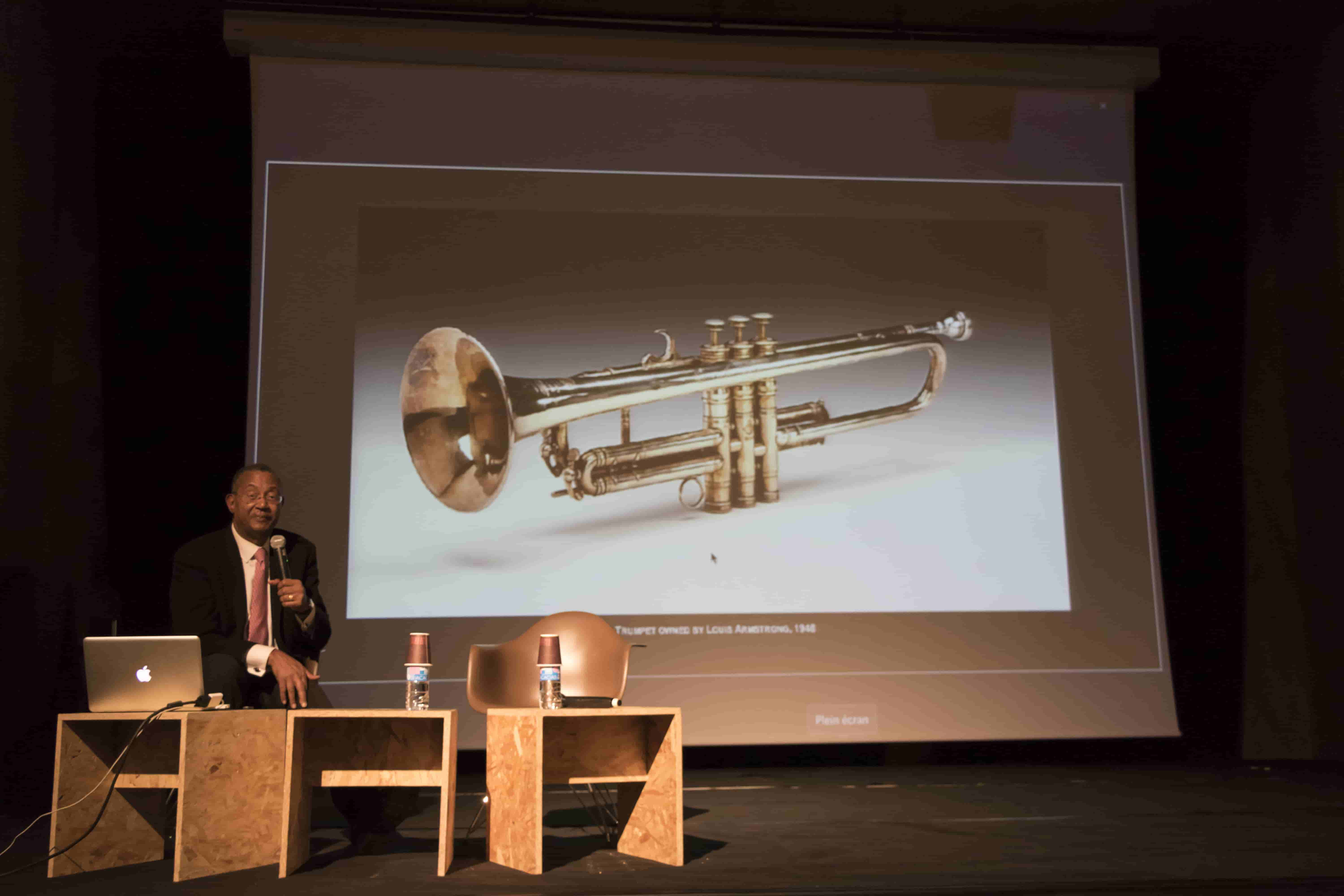NMAAHC collection - Louis Armstrong's trumpet
