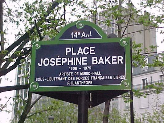Pl Josephine Baker Paris