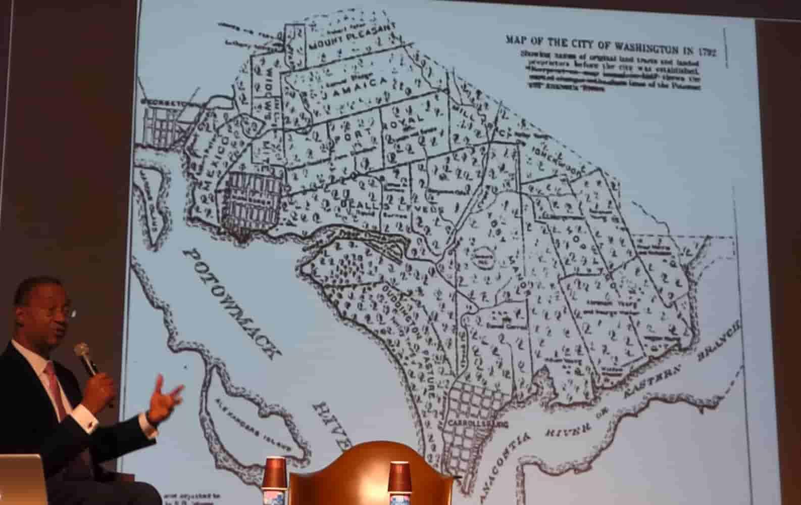 1792 Map of City of Washington