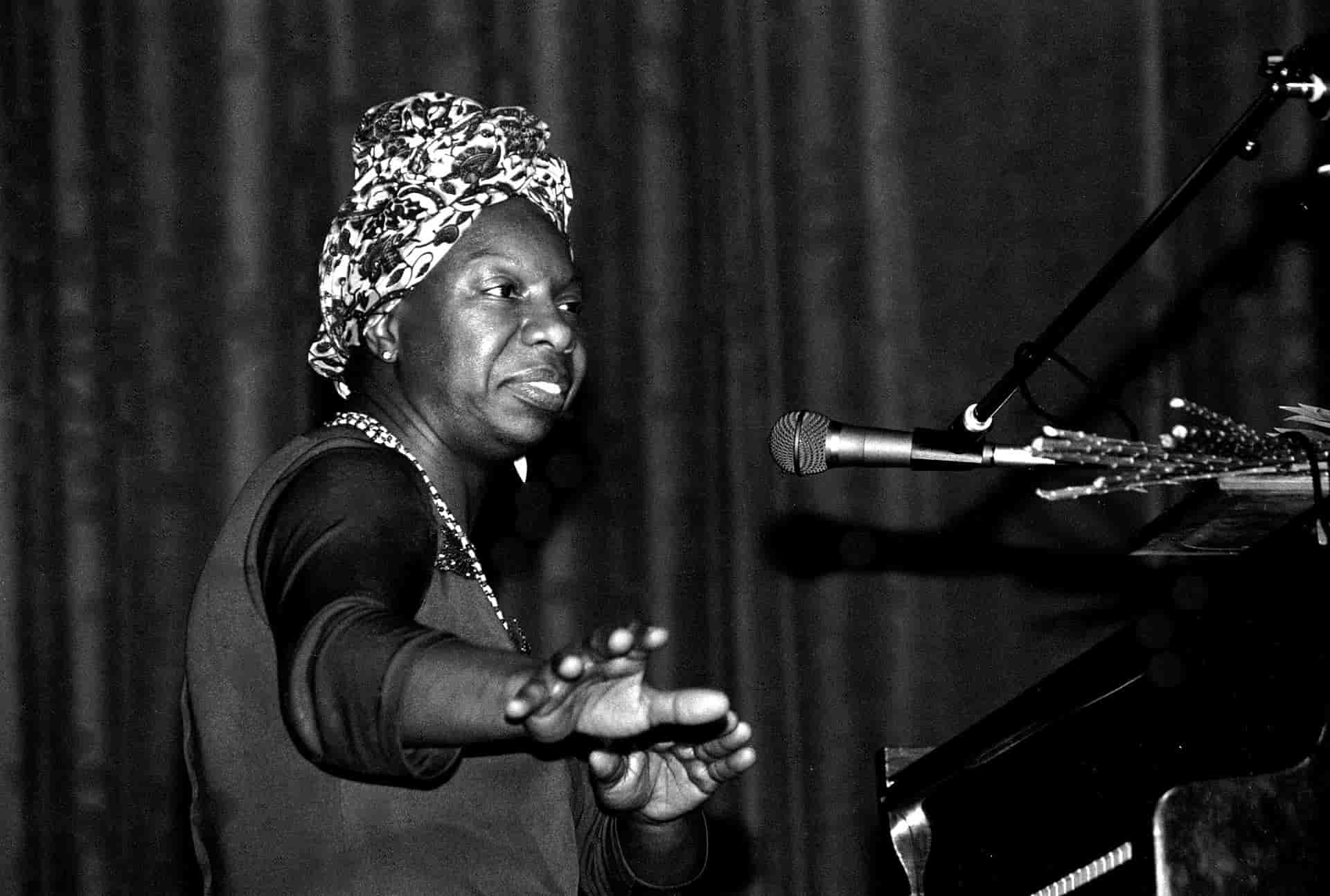 Nina Simone in concert 1982