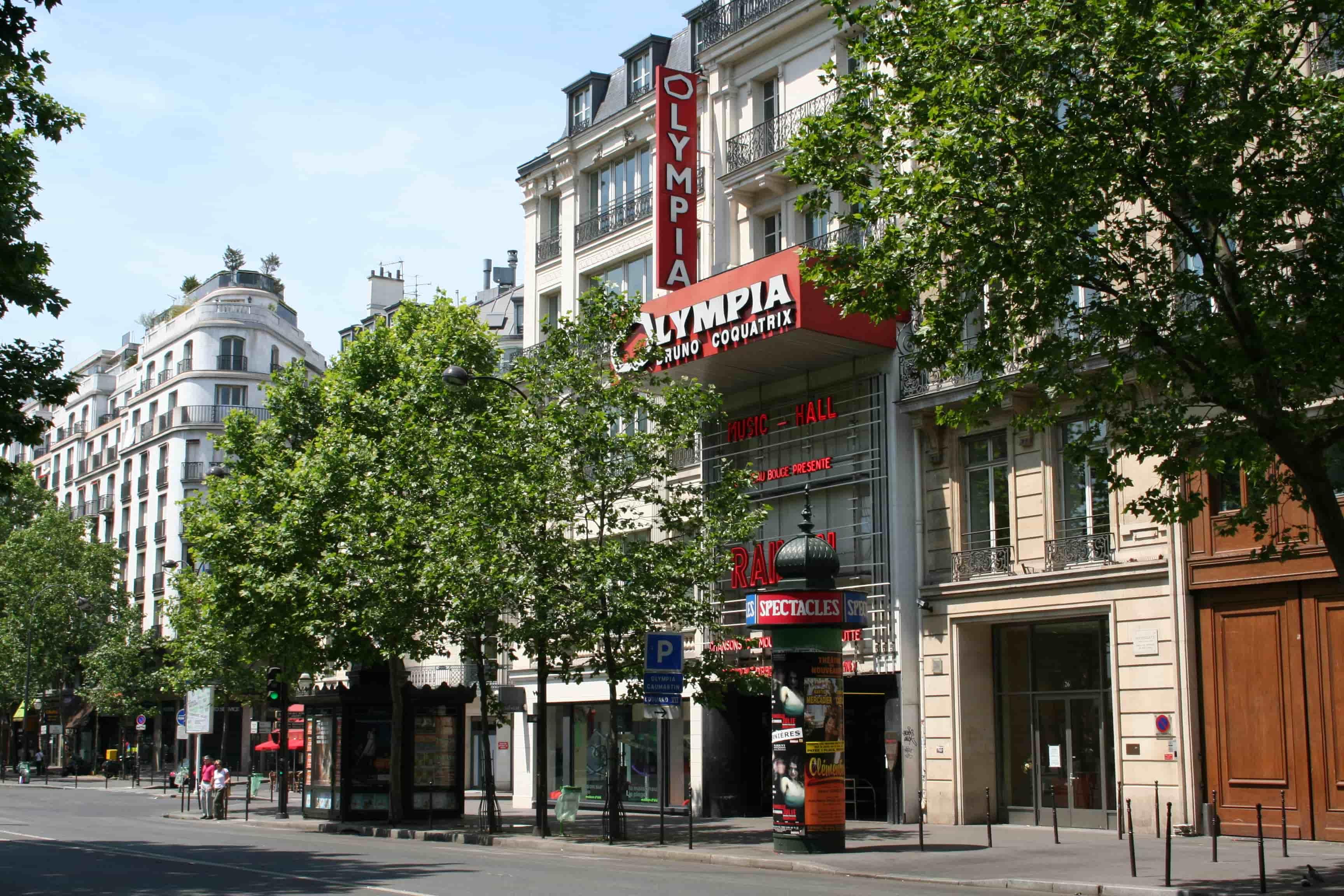 Olympia Theater - façade