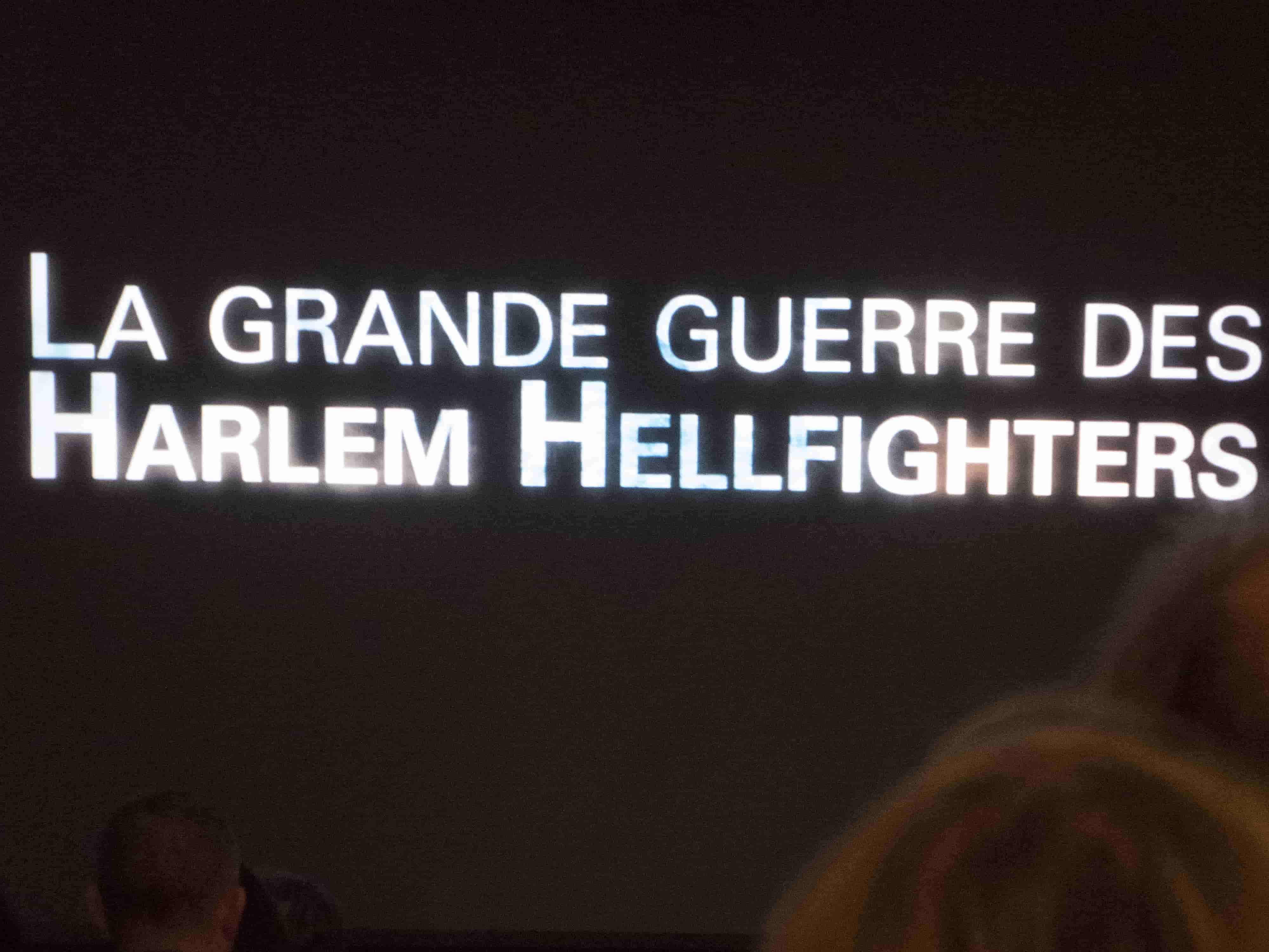 Title frame of film La Grande Guerre des Harlem Hellfighters