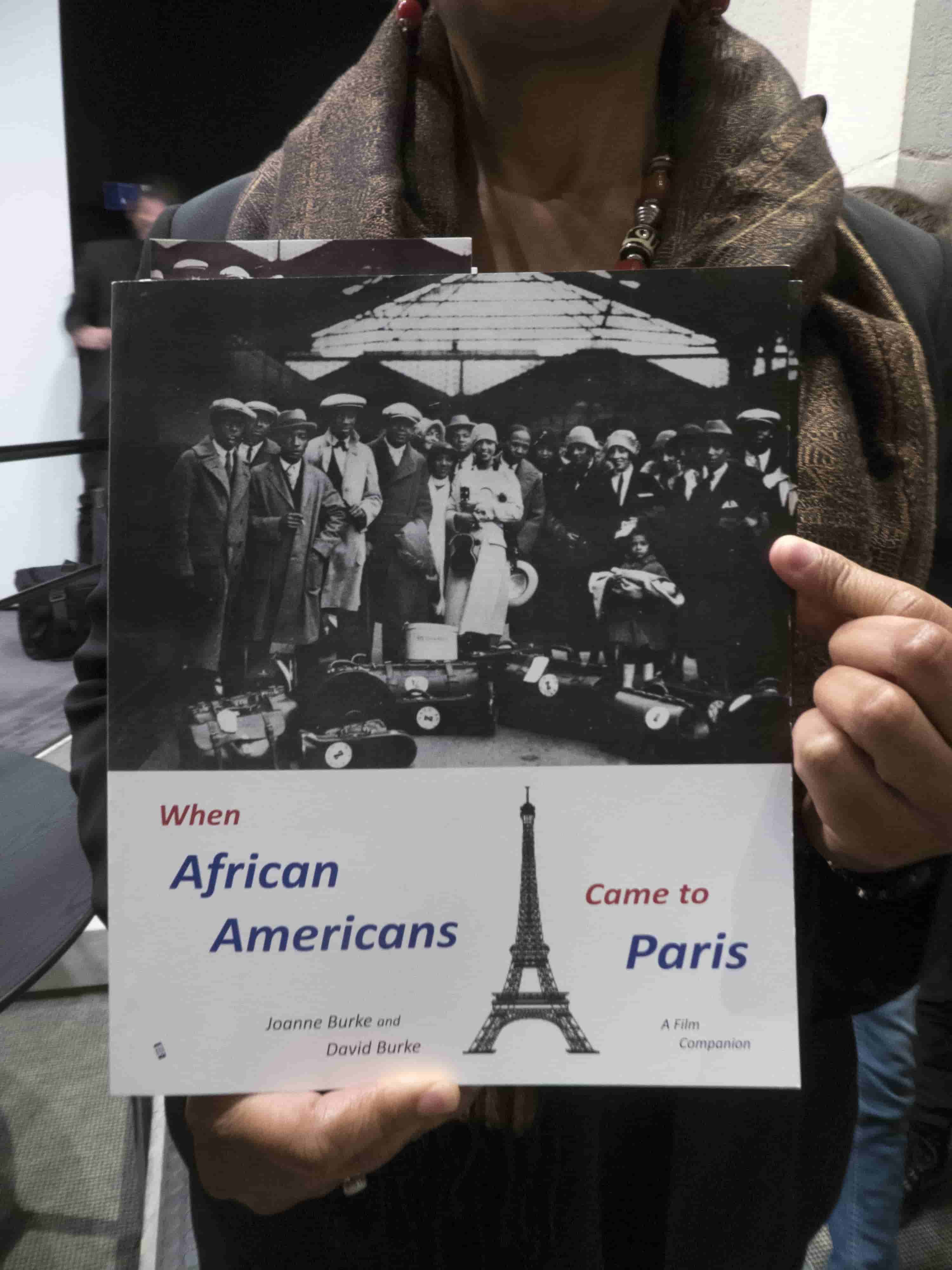 Book cover - When African Americans Came to Paris